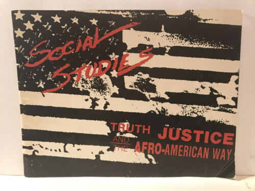 RARE CATALOG SOCIAL STUDIES TRUTH JUSTICE AND THE AFRO-AMERICAN WAY OUT OF PRINT