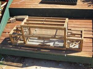 Bird Holding Cage & Double Trap Mannum Mid Murray Preview