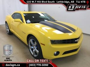 2010 Chevrolet Camaro LT RALLY SPORT PACKAGE, HEATED LEATHER