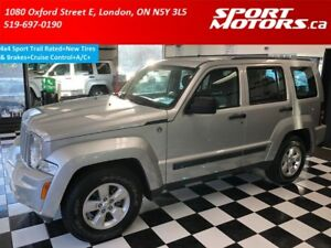 2012 Jeep Liberty 4x4 Sport Trail Rated+New Tires & Brakes+Cruis