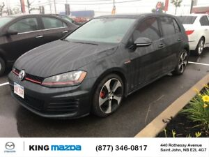 2016 Volkswagen Golf GTI Autobahn 210 HP TURBO..APPLE CAR PLAY &