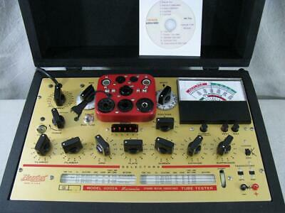 Hickok 6000a Mutual Conductance Tube Tester - Calibrated - Specs Near Perfect.