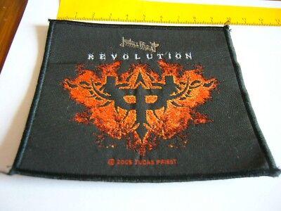 JUDAS PRIEST – old original 2005 Revolution Patch!!!