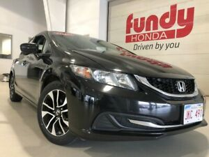 2015 Honda Civic Sedan EX w/sunroof, alloys, backup cam ONE LOCA