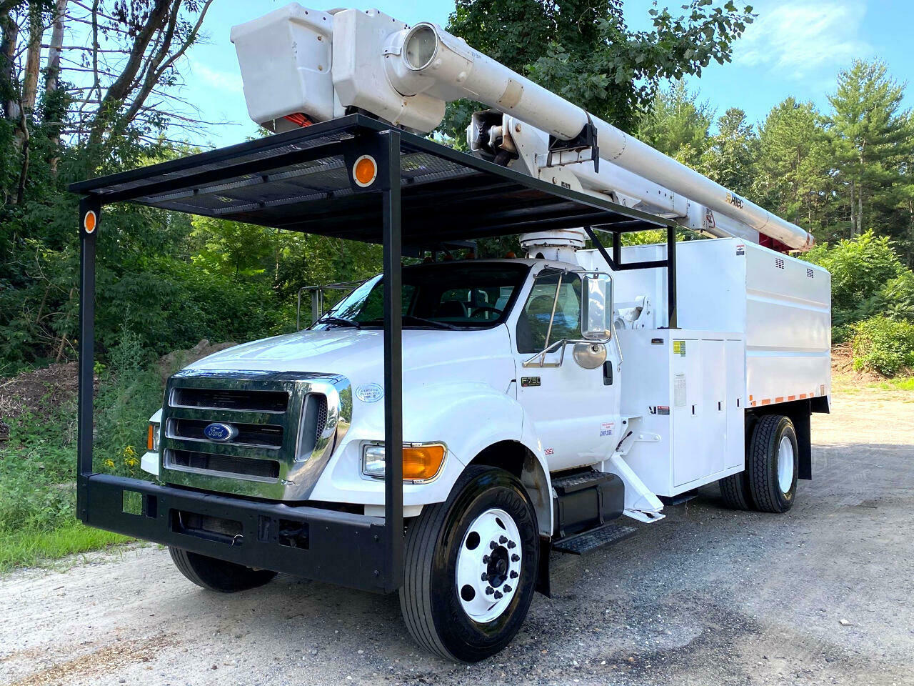 2010 Ford F750 Altec Elevator Forestry Bucket Truck