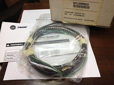 Trane Bayloamm003a Crankcase Heater Kit Drawing No. D1600080701