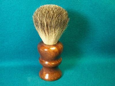 New, Imperia La Roccia ® ILR, Best Badger Shave Brush, Hand Turned