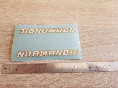 ++ autocollant sticker NORMANDIE vélo cyclisme vintage ++