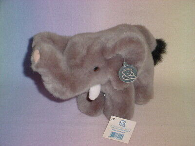 PRINCESS SOFT TOYS GRAY ELEPHANT 8 INCH TALL 14 INCH LONG NEW - $8.99