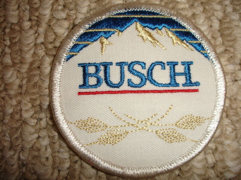 Collectible Busch Beer Patch Smaller Size 3""
