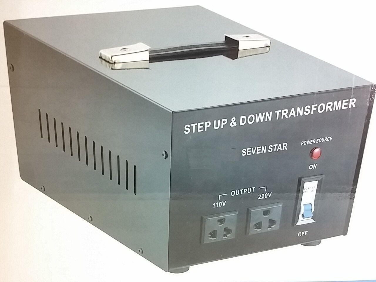 Best 3000 Watt 110 To 220 Volt Voltage Converter Transfor...