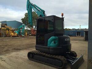 Kobelco SK55SRX Excavator Newstead Launceston Area Preview