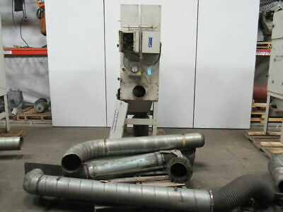 Airflow Systems 3 Hp Dust-pak Weld Fume Dust Collector System Complete 8 Intake