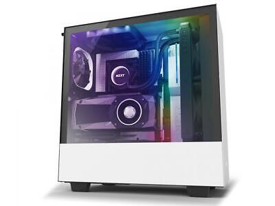 NZXT H510i Compact ATX Mid -Tower PC Gaming Case White/Black