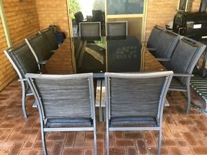 10 seater outdoor setting Leeming Melville Area Preview