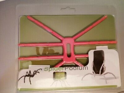 NEW:Spiderpodium(Your Gadget's best friend)-COLOR:RED-Cell phone mount/