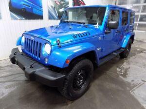 2014 Jeep Wrangler Unlimited Sahara UNLIMITED