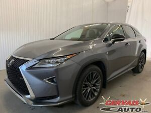 2016 Lexus RX 350 F Sport AWD GPS Cuir Toit Panoramique MAGS
