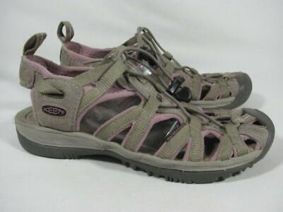 Keen Whisper Sport Sandal Women size 6 taupe for sale  Shipping to India