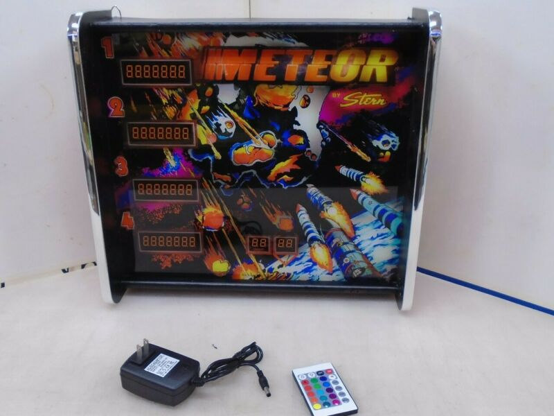 Meteor Pinball Head LED Display light box