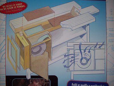 Dust Free Workbench woodworking pattern project plans