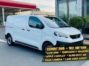 2020 Peugeot Expert K0 MY20 150 HDi SWB White 6 Speed Automatic Van
