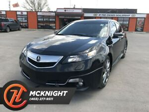 2014 Acura TL A-Spec / Leather / Sunroof / Heated seats