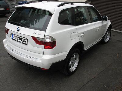 Twin Trittbrett (BMW X3 Typ E83/X83 Alu Trittbretter MICRO Medes Point)