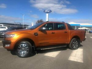 2017 Ford Ranger PX MkII Wildtrak Double Cab Orange 6 Speed Sports Automatic Utility Kilmore Mitchell Area Preview
