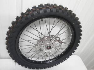 NEW 2018 KTM 250 SX-F Black Front Wheel 125 250 350 450 SXF SX 03 - 18