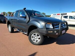 2014 Ford Ranger PX XLT Super Cab Grey 6 Speed Sports Automatic Utility