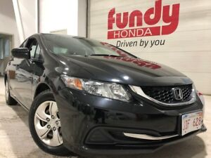 2014 Honda Civic Sedan LX w/heated front seats, $118.43 B/W O.A.