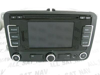 VW RNS 310 RNS310 Navigation System Sat Nav GB UK FX V4 CD SD card Seat Skoda
