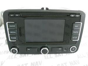 VW RNS 310 RNS310 Navigation System Sat Nav GPS GB UK FX V4 CD 2012 Seat Skoda