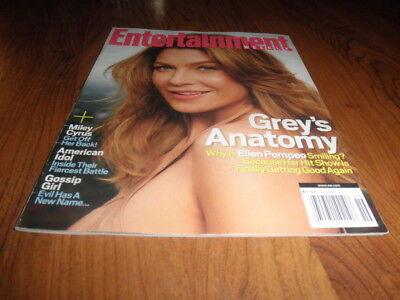 Entertainment Weekly Magazine Ellen Pompeo Greys Anatomy Mint Copy