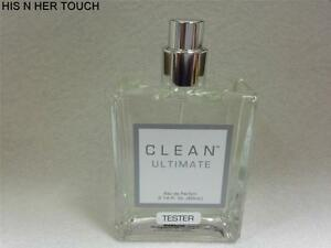 CLEAN ULTIMATE BY DLISH WOMEN PERFUME EDP 2.14 oz 60 ml SPRAY BRAND NEW TESTER