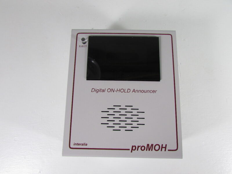 INTERALIA P-1-4 PROMOH DIGITAL ON-HOLD ANNOUCER