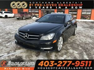2012 Mercedes Benz C-Class C350 4MATIC / Leather / Sunroof
