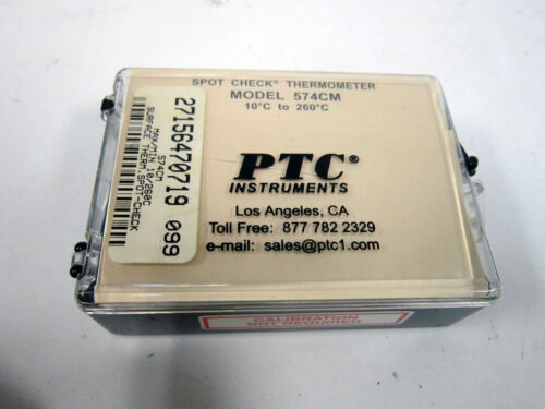 PTC INSTRUMENTS 574CM SPOT CHECK THERMOMETER 10C TO 260C