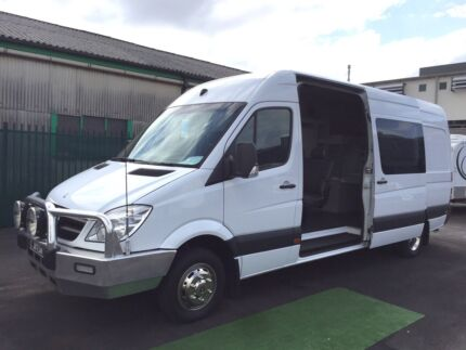 2010 Mercedes Sprinter Motorhome AUTO with Shower & Toilet Brookvale Manly Area Preview