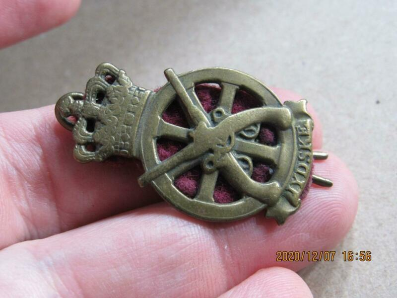 Rare Australian Scottish Clan WWI Military Hat badge Pin JYSKE  (2020L2)