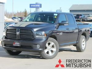 2016 RAM 1500 Sport CREW | BACKUP CAM | LOADED