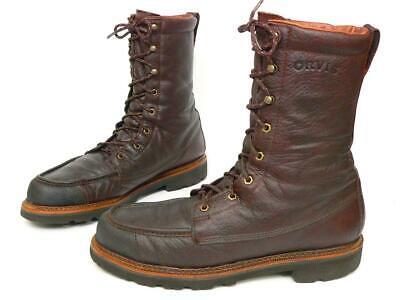 USA Orvis Featherweight Kangaroo Waterproof Upland Hunting Boots Men's US 12 D Kangaroo Hunting Boot