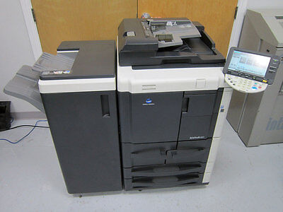 Konica Minolta Bizhub 601 Mfp Network Copier Printer Scanner Staple Df-614