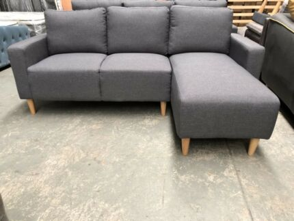 Brand new fabric L shape couch sofa $390