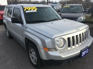 2012 Jeep Patriot SPORT, 4WD
