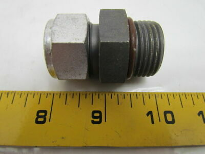 Swagelok S-1210-1-12st 34x1-16 Male Sae Connector O-ring Seal Tube Fitting
