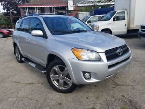 2012 Toyota RAV4 Sport,4WD,Leather,USB,AUX,Roof,Alloys,Fog