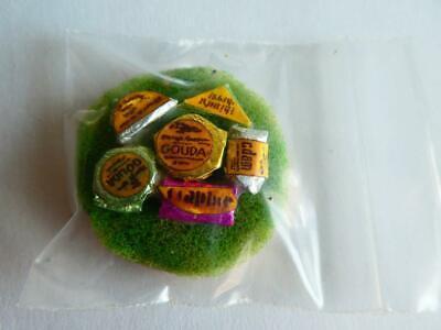 Gourmet Cheese Tray - Dollhouse Miniature Gourmet Cheese Tray