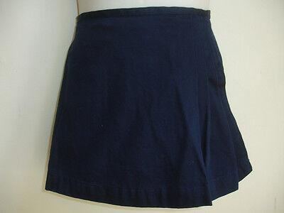 POLO RALPH LAUREN GIRLS DRESS SKIRT SHORTS size 6 BLUE NAVY BEAUTIFUL STUNNING